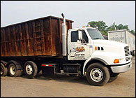 Scrap Metal Steel Container Pick Up MAS Company, Inc.